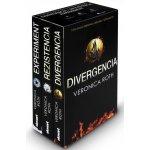 Divergencia - komplet - mäkká väzba - Veronica Rothová) - Kniha)