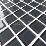 MOSAGRES No-37 Mozaika 30 x 30 cm sklo antracit