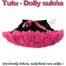 Tutu dolly sukňa pre dospievajúce dievčatá