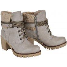 9666cb00c4 S.Oliver outdoorové topánky koža smotanové