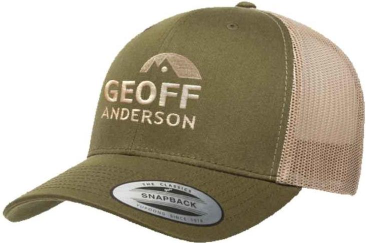 Šiltovka Geoff Anderson Šiltovka Trucker Geoff Anderson zelená ... bdd9e41ef19