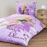 Jerry Fabrics obliečky bavlna Pixie purple 140x200 70x90