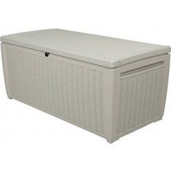92541e422 KETER STORAGE BOX 511 záhradný úložný box ratan 511l, biela 17205835 od  159,00 € - Heureka.sk