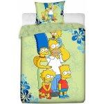 Jerry Fabrics obliečky Simpsons family 2016 140x200 70x90