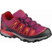 Salomon Dievčenské outdoorové topánky X-Ultra GTX J červené 6f173ef247c