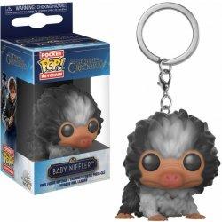 Prívesok na kľúče POP Fantastic Beasts 2 - Baby Niffler (Grey) 4 cm ... 49d23e8518d