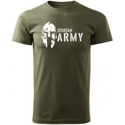 0fff5cc9e0fd O T krátke tričko Spartan army olivová od 11