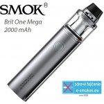 SmokTech Brit One Mega Kit 1 x 2000 mAh strieborná