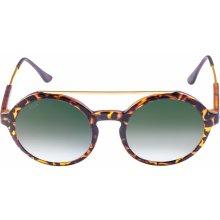 Urban Classics Sunglasses Retro Space havanna/green
