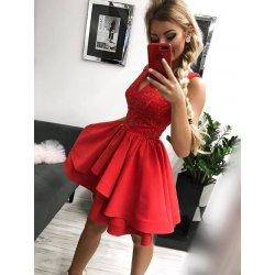 092085a357e3 Dámske spoločenské krátke šaty červená alternatívy - Heureka.sk