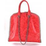 Retiazková kabelka 8815 červená