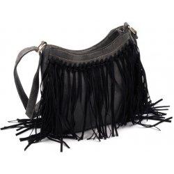 dámská crossbody kabelka s triasňami čierna alternatívy - Heureka.sk b98b57793eb