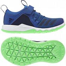 b716105eea2d1 Adidas Performance RapidaFlex EL K Fitness topánky Tmavo modrá / Limeta