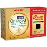 Walmark Omega 3 rybí olej Forte 180 tbl.+ Karta pohody