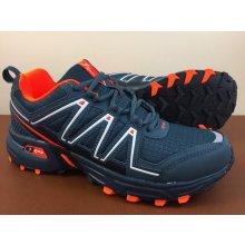 Pánska trailová obuv 3640M2 Sivá / Čierna