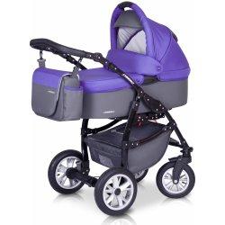 Euro Cart Passo ultra violet + autosedačka 2015