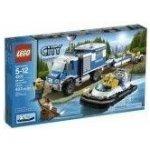 LEGO CITY 4205 Policejní terénní vůz s přívěsem a člunem