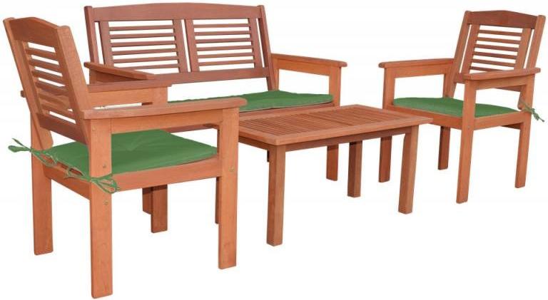 606ff6a08861 Masívny drevený záhradný nábytok (zostava z borovice TEA 1+2) drevo 38 mm  od 244