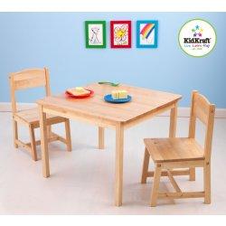 c455f27b3af1 KidKraft detský stôl s dvoma stoličkami natural alternatívy - Heureka.sk
