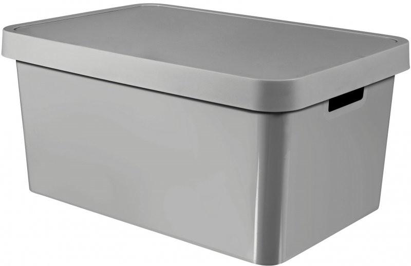 0d63df572 CURVER Úložný box Infinity 45 l, šedá
