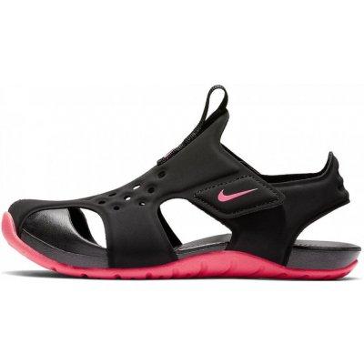 Nike dievčenské sandále Sunray Protect 2 PS 943826 003 čierna