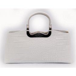 290d1bcf8a kožená kabelka do ruky Walter Valentino 230K biela alternatívy ...