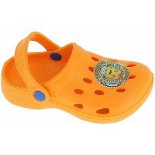 Disney by Arnetta Chlapčenské sandále Mimoni žlté