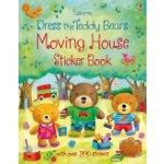 !!! Dress the Teddy Bears Moving House Sticker Book Brooks Felicity