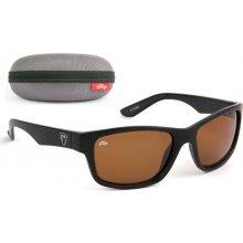 7d68b5540 Fox Rage Matt Black Frames Brown Lens Eyewear