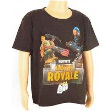 Detské tričko Fortnite Battle Royale čierne
