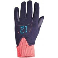 d53bfe87ba494 Fouganza Detské jazdecké rukavice EasyWear modro-ružové