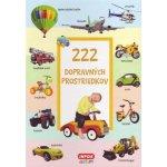 222 dopravných prostredkov