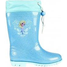 Disney Brand Dievčenské gumáky Frozen modré 24da8783943