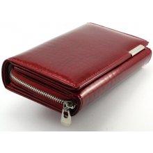 Jeniffer Jones Dámská kožená peňaženka červená