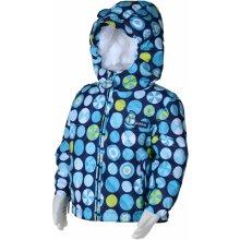 Bugga chlapčenská zimná bunda s kolieskami modrá