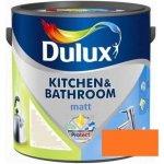 Dulux Kitchen & Bathroom Matt, matná farba - sušená marhuľa 2,5l