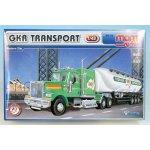 Stavebnice Monti 68 GKR Transport Western star v krabici 32x205x75cm 1:48
