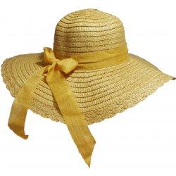 e0de5acaa Jenifer SK-1429BWG Dámsky slamený klobúk s mašľou hnedý alternatívy ...