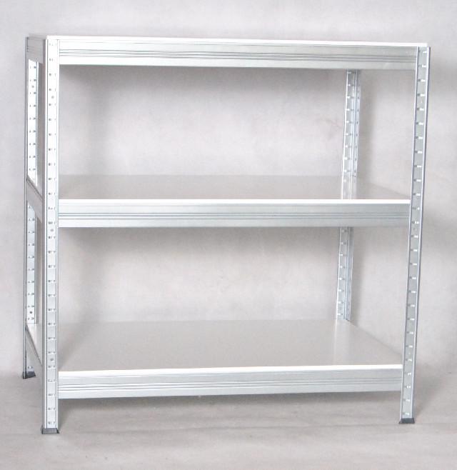 biedrax kovov reg l 35 x 75 x 90 cm pozinkovan b l police lamino foto 1. Black Bedroom Furniture Sets. Home Design Ideas