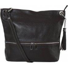 3809d96753 Genuine leather Frame čierna