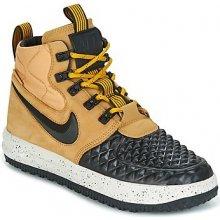 Nike Polokozačky LUNAR FORCE 1 DUCKBOOT'17 GRADE SCHOOL Béžová