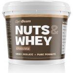 Nuts & Whey - GymBeam Chocolate 1000 g