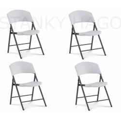 Skladacia stolička LIFETIME 4 stoličky