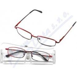 Dioptrické okuliare čtecí American Way červené v etui od 4 96d3b1d7760