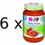 HiPP Zeleninová polievka s kuracím mäsom 6x190g