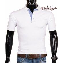 11052-1 Biele polo tričko s gombíkovou légou EXPOMAN 5008
