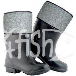 a5910b89b9490 Filcové zimné rybárske čižmy EVA GARD čierna pánske alternatívy ...