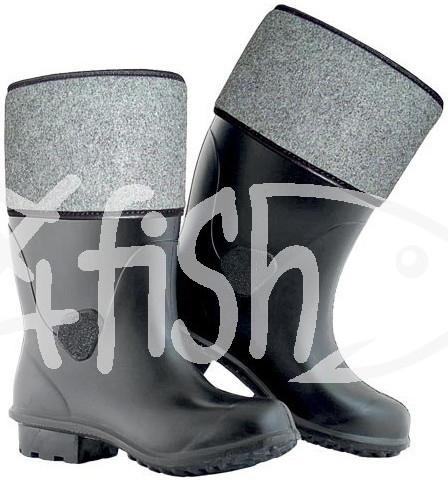 90dc3090e09df Rybárská obuv Filcové zimné rybárske čižmy EVA GARD čierna pánske ...