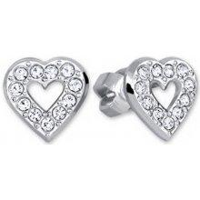 Brilio Silver strieborné náušnice Srdce 438 001 00614 04 df57f5ab8e5