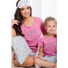 Mačka Matylda detské pyžamo so šortkami